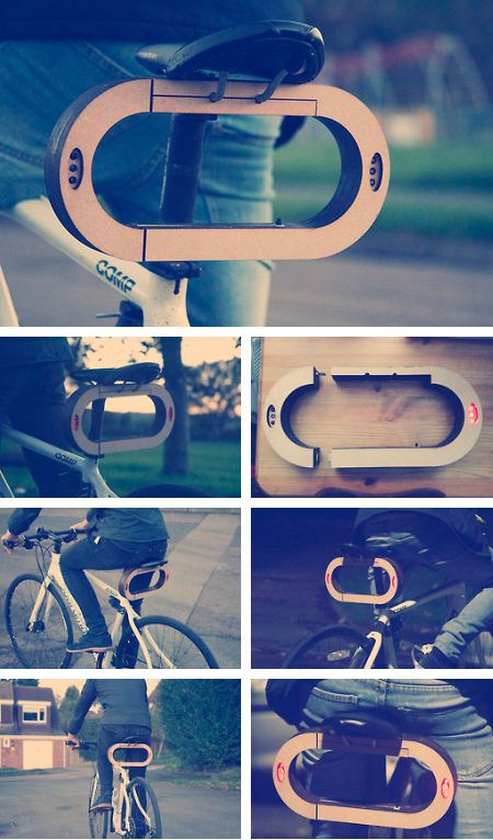 Clip : Bike Lock  by Liam Richards, via Behance