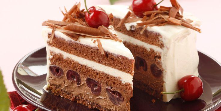 Fini's Feinstes - Rezeptsuche - Fini´s Rezepte - Schwarzwälder Kirsch-Torte