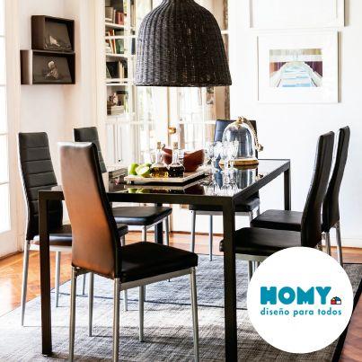 #Homy #Deco #Comedor #Rústico #lámpara #Ratán #mimbre