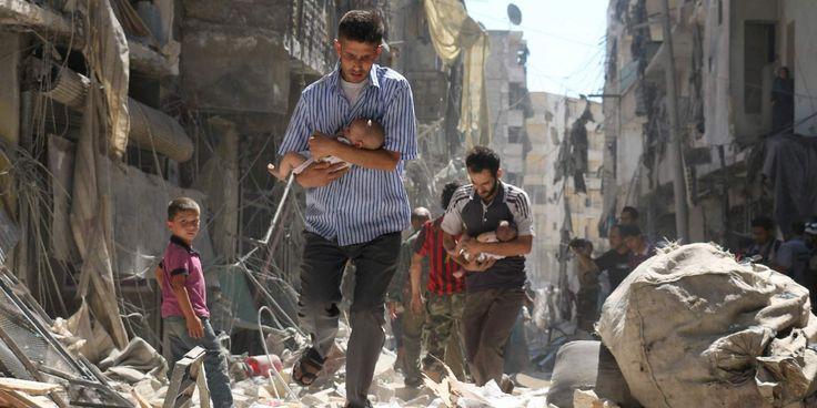 Las dos fotos de Siria que están dando la vuelta a la mundo https://t.co/t3SVhgs9RO #ES