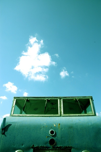 'n Verlate trein (Foto: Robin Brown)
