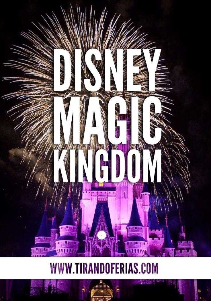 Comemorando o aniversário no parque Disney Magic Kingdom, em Orlando.
