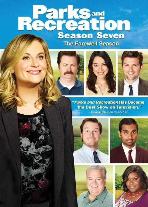 Parks & Recreation: Season 7 - Starring Amy Poehler, Nick Offerman, Aubrey Plaza, Chris Pratt, Rashida Jones, Adam Scott, and Rob Lowe. #TV