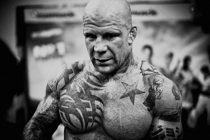 Jeff Monson MMA fighter INK~ tattoos