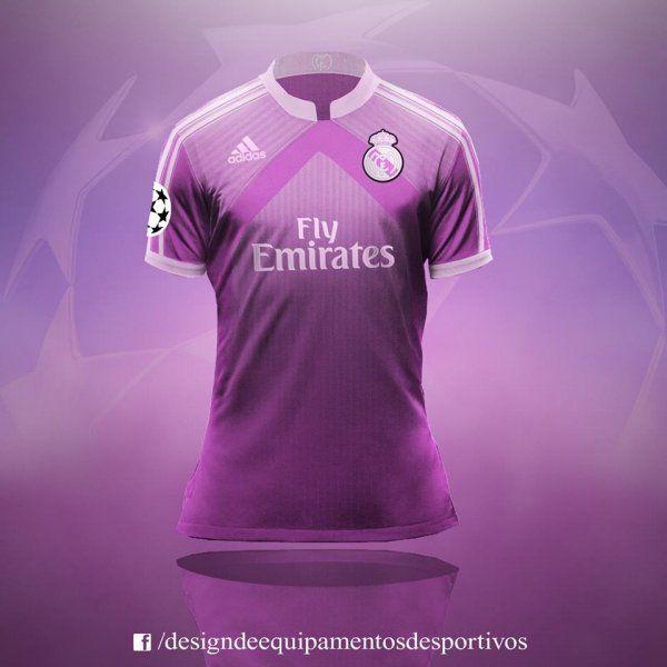Leitor gb   Terceiras camisas de PSG, Barcelona, Real Madrid, Roma, United ganham sugestões ousadas de design