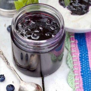 Blåbärssylt med kanel - Recept från Mitt kök - Mitt Kök