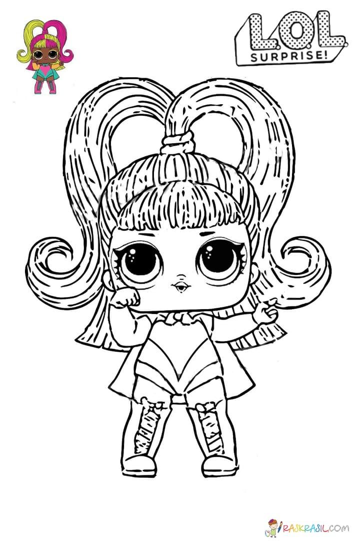 Lol Surprise Dolls Coloring Pages Print Them For Free All The Series Coloring Pages Lol Dolls Superhero Dolls
