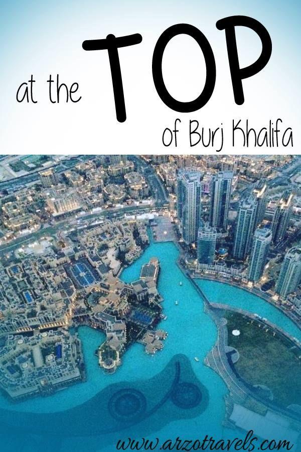 At the Top of Burj Khalifa in