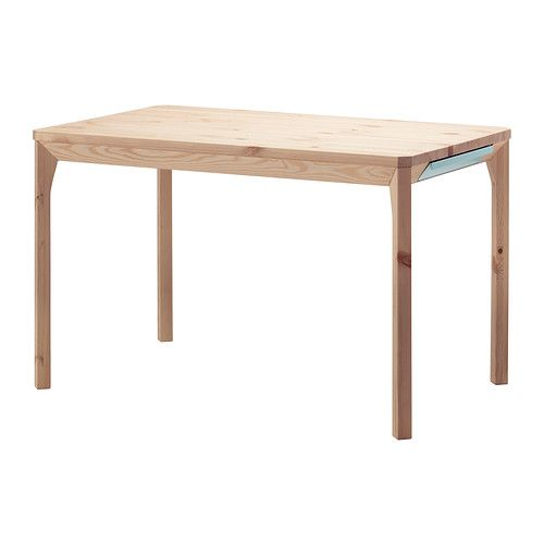 IKEA - IKEA PS 2014, Bord, Massiv furu; ett naturmaterial som åldras vackert.Praktisk låda under bordsskivan gör att du kan förvara besticken, servetter eller tabletter nära bordet.
