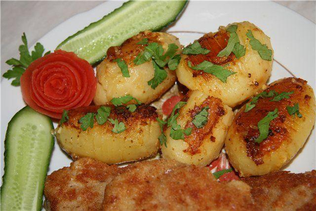 Картофель печеный по-шведски
