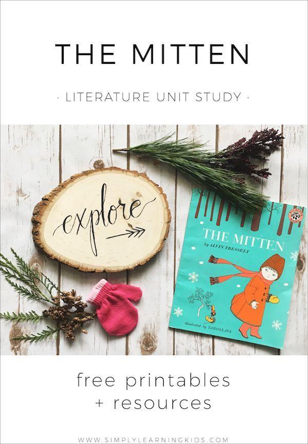 A free literature unit on The Mitten for infants - preschool children!
