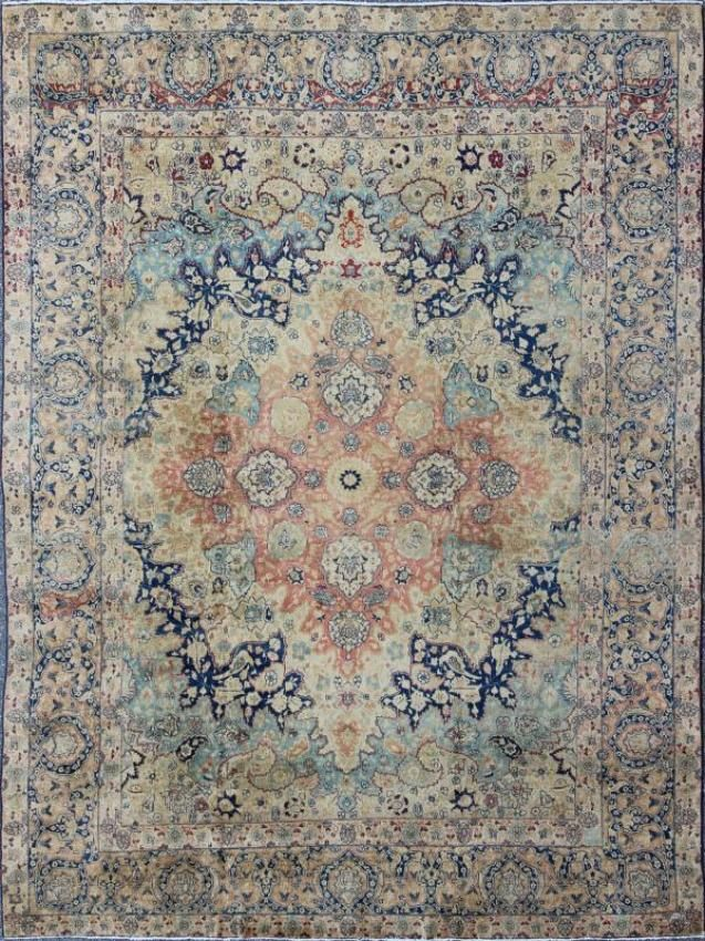 "KEIVAN WOVEN ARTS, Type : Kerman Origin : Iran Size : 10'0""x12'5"" Circa : 1920"