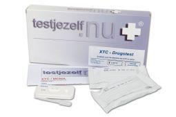 Testjezelf.nu Drugstest mdma (xtc) 3st  XTC wordt vaak gebruikt in het uitgaansleven. Er kan op het gebruik hiervan worden getest met deze drugstesten in urine (3 testen per verpakking).  EUR 9.95  Meer informatie