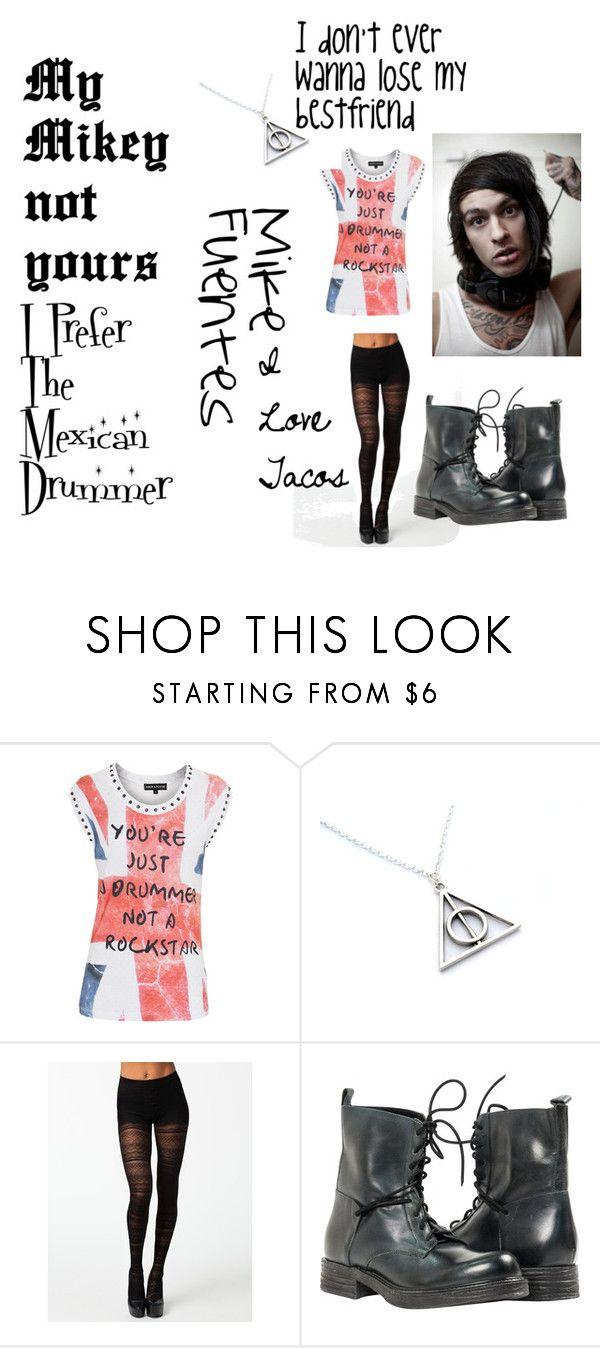 """hanging out with Mike Fuentes"" by kittymalik on Polyvore featuring AMOR & PSYCHE and Sneaky Fox"