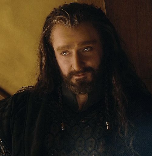 Richard Armitage as Thorin Oakenshield in The Hobbit: An Unexpected Journey (2012) (gif)