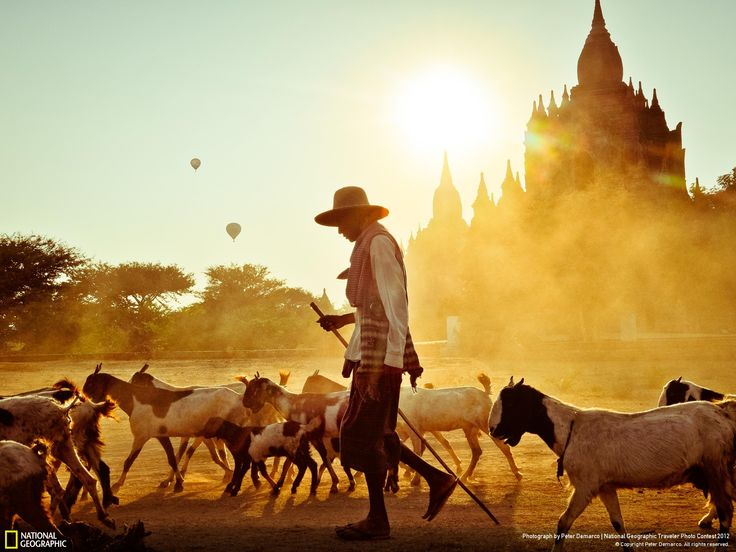 """Bagan Bliss"" - Peter DeMarco - National Geographic Traveller Photo Contest Winner"