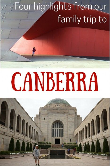 Our Family Trip To Canberra - Four Highlights... what we loved on our recent trip!