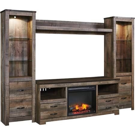 entertainment center with fireplace - Google Search