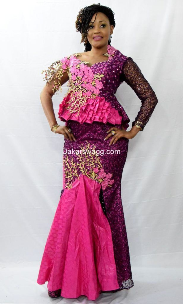 Les 25 meilleures id es concernant bazin brod sur for Robes de dames designer pour mariage