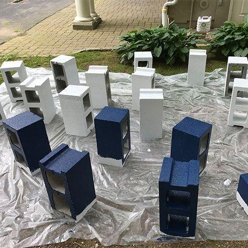 20+ Stunning Diy Cinder Block Ideas For Outdoor Space ... on Diy Cinder Block Fireplace id=48163