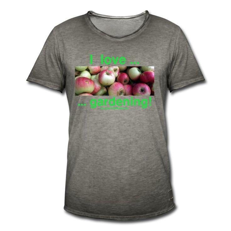 das Statement für alle Apfelfreunde und Gärtner!  #gourmetkater #apple #apfel #ahirt #shopping #gardening #statement