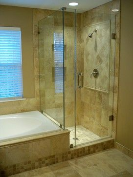 Website With Photo Gallery Travertine Shower Design Ideas Pictures Remodel and Decor page