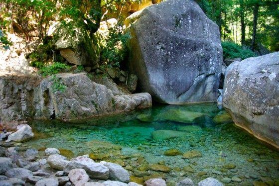 Cascades de Purcaraccia, Corse