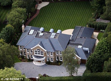 Andy Murray's Surrey Home.