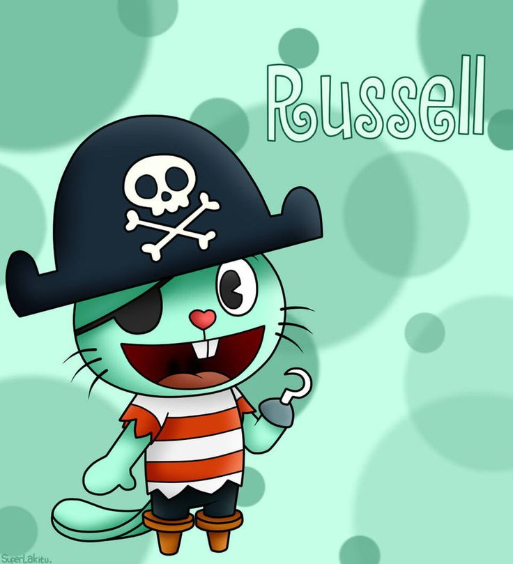 This is Russel the otter. He is a pirate. And he is also quite fun.