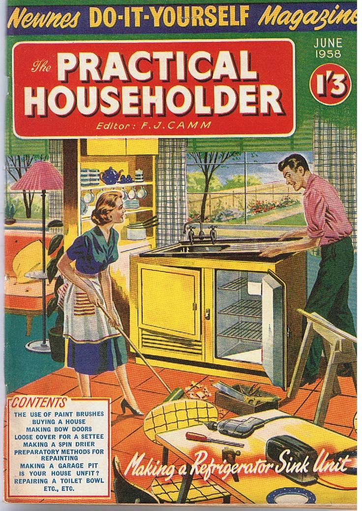 1950s Vintage Magazine DIY vintage adverts and by SimonsRetroStuff