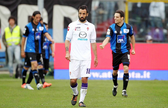 Even through a thick beard, you can see Mattia Cassani's pain....