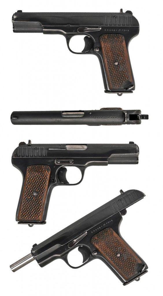 Russian Pistol Tokarev TT-33 (1945):