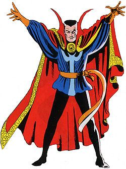 Dr. Strange Master of the Mystic Arts (Google Image Result for http://upload.wikimedia.org/wikipedia/en/thumb/9/95/Dr_Strange_by_Steve_Ditko.jpg/250px-Dr_Strange_by_Steve_Ditko.jpg)