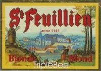 Label van St-Feuillien Blond
