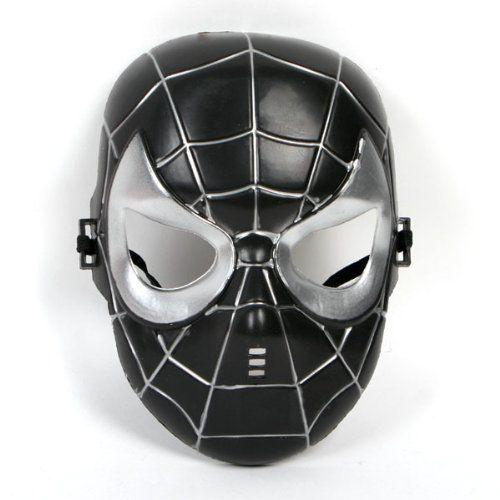 VENOM SPIDERMAN MASK - because my dear boy only loves the villains.  LOL
