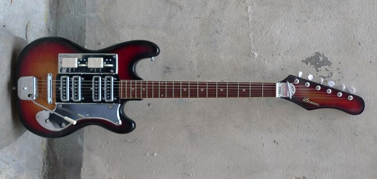 Teisco Demian Baritone Guitar
