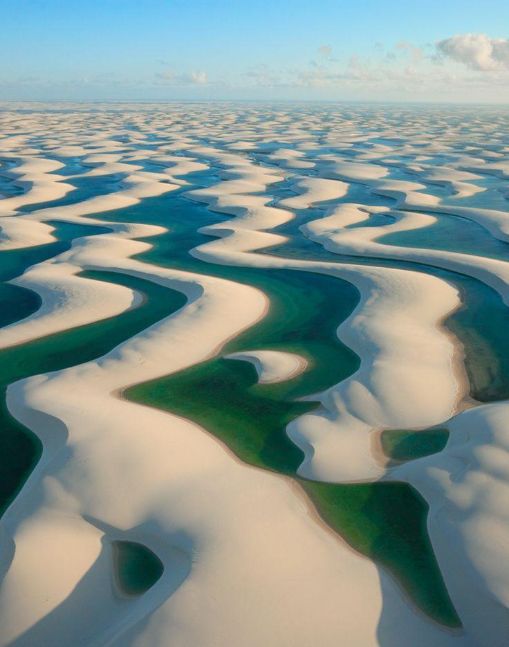 Lençóis Maranhenses National Park, Brazil #SummerReads #PenguinTeen