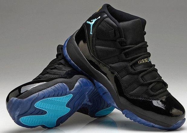 check out 512b2 f8501 Online Cheap Nike Air Jordan 11 Retro Gamma Blue Black ...