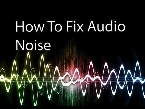 How to turn mono into stero sound and fix audio noise in Adobe Premiere Pro CS6