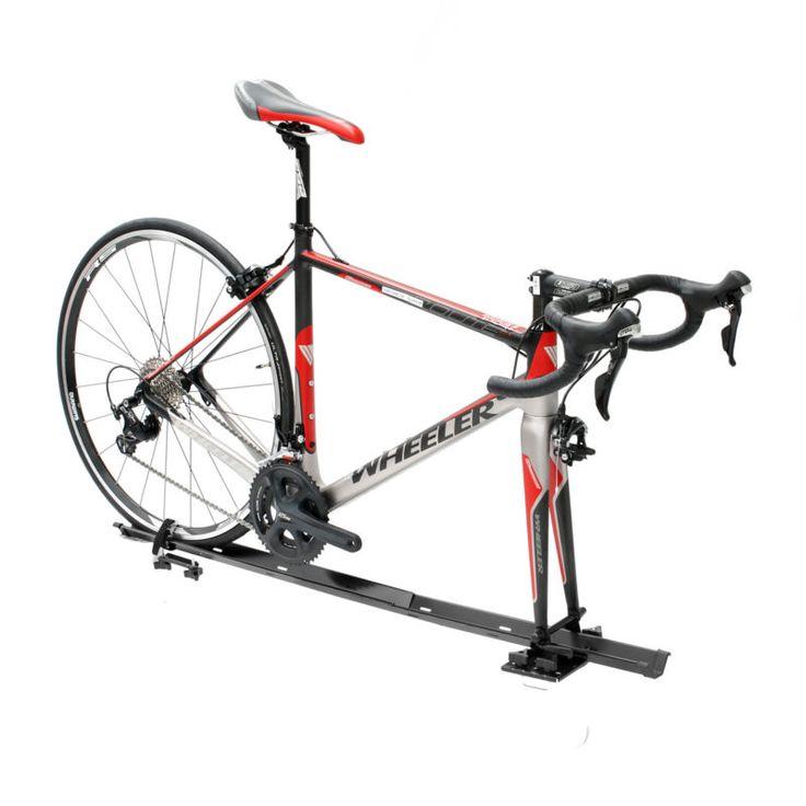 1 Bicicleta Bicicleta coche techo portador de montaje en horquilla