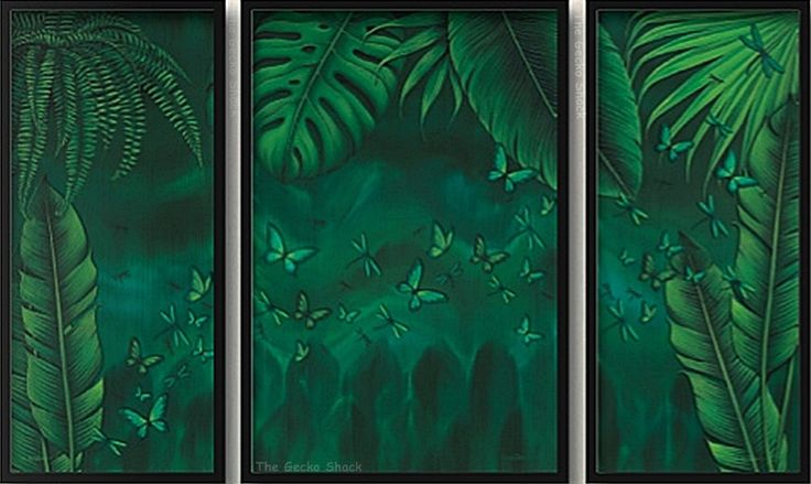 The Gecko Shack - Earthing Panel - 140 x 90cm Framed 3 piece Canvas set Rainforest inspired Earthing Collection by Lisa Pollock, $197.50 (http://www.geckoshack.com.au/earthing-panel-140-x-90cm-framed-3-piece-canvas-set-rainforest-inspired-earthing-collection-by-lisa-pollock/)