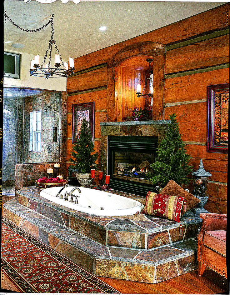 Top 25+ Best Log Home Bathrooms Ideas On Pinterest | Log Cabin Bathrooms, Log  House Kitchen And Cabin Homes Part 50