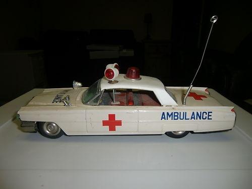 Vintage Japanese Tin Cadillac Ambulance | eBay