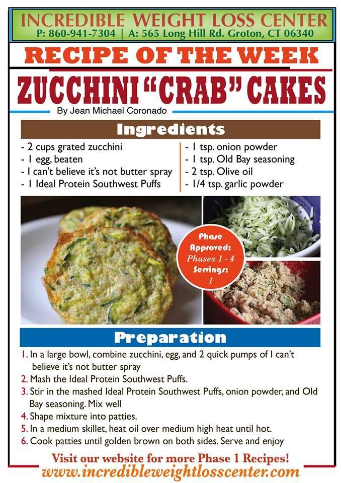 Baked zucchini crab cake recipe