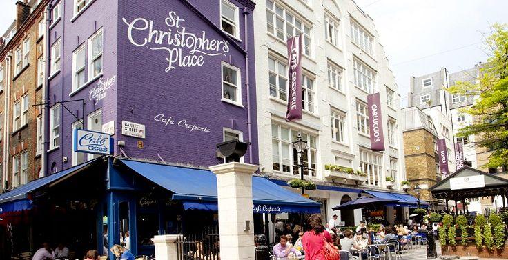 St Christopher's Place #London A hidden gem #TravelSmartyPantz #London