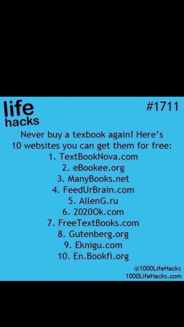 Free Textbooks!!!! #Technology #Trusper #Tip
