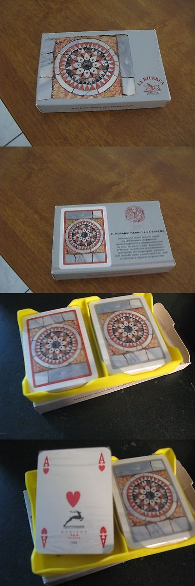 Playing Cards 166571: La Ricerca Venezia Italy Bridge Ramino Modiano Marca Trieste Deck Playing Cards -> BUY IT NOW ONLY: $175.49 on eBay!