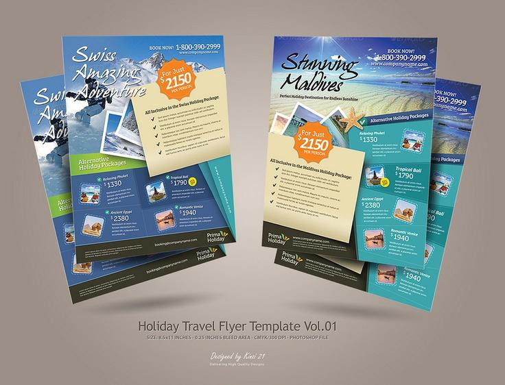 150 best tourism&travel layout images on Pinterest | Flyer design ...