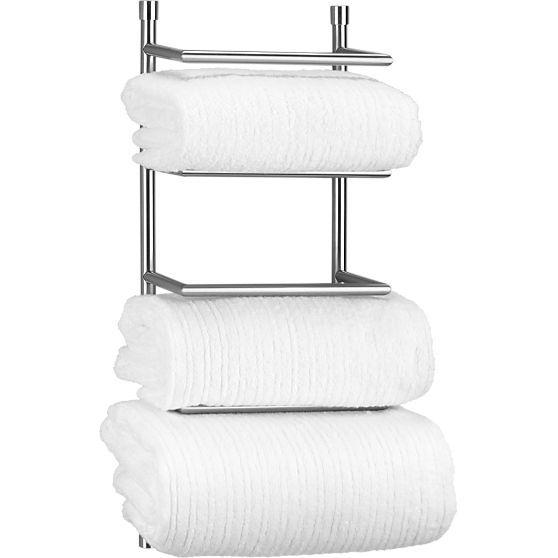 Best Bathroom Decor Images On Pinterest Bathroom Ideas Home - Wall towel rack rolled towels for small bathroom ideas
