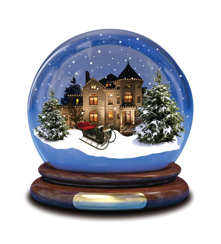 christmas snow globes - Google Search